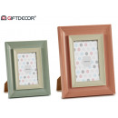 wholesale Pictures & Frames: double photo frame 2 col.mix 10x15cm