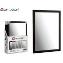 miroir noir 50 x 70 cm