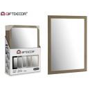 miroir gris 50 x 70 cm