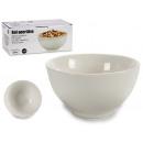 white porcelain round bowl 9x9 cm