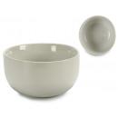 runde weiße Porzellanschale 14,5 cm