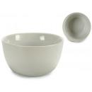 runde weiße Porzellanschale 15 cm