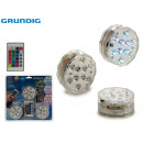 GRUNDIG - 3 led lights with remote control