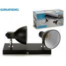 GRUNDIG - black lamp 2xe14max40w 360º
