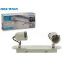 GRUNDIG - white lamp 2xgu1050w 360º