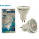 GRUNDIG - 2 led bulbs gu10 7w 500lmn 3000k gru