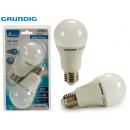 GRUNDIG - 2 led bulbs a60 12w 1055lmn 3000k gr