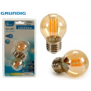 GRUNDIG - 2 led bulbs decoration e27 4w 350lm