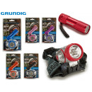 wholesale Wind Lights & Lanterns: GRUNDIG - 7led headlamp and 9led flashlight