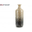 vase high nacre gray gradient 55cm