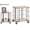 wholesale furniture:2 shelves with wheels