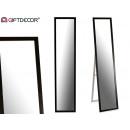 miroir de pied 30 x 120 cm noir