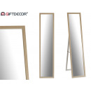 floor mirror 30 x 120 cm natural wood