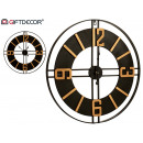wholesale Home & Living: watch 60cm black golden numbers