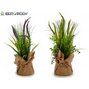 wholesale Artificial Flowers: Juncs plant and rams small sack, 2 times assorted