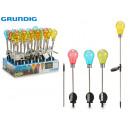 GRUNDIG - solar beacon bulb colors 4 times its