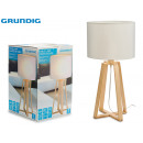 GRUNDIG - lampshade table lamp fabric base mad