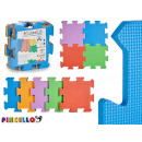 puzzle pad 9 pieces smooth colors assorted