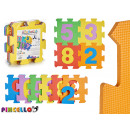 puzzle pad 9 pcs numbers colors assorted