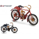 wholesale Sports & Leisure: tin bike, colors 2 times assorted