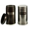 tin canister round sugar aluminum sur2