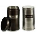 Tin can round round aluminum paste sur2
