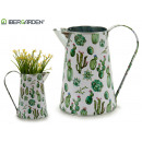 wholesale Garden & DIY store: metal planter pitcher cactus