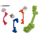 small rope teether, colors 4 times assorted