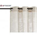 beige multirayas curtain 140x260 cm