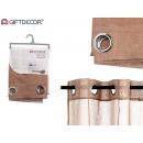brown curtain curtain 140x260 cm