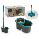 blue bucket set rotating mop 13l