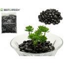 sac de pierre noir poli 4kg petit