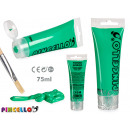 Acrylic paint tube 75ml light green