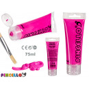 75ml acrylic paint tube magenta