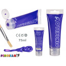 purple paint 75ml acrylic tube