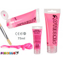 tube paint acrylic neon 75ml pink