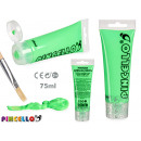 Neon 75ml acrylic paint tube green