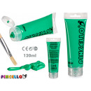 Acrylic paint tube 120ml light green