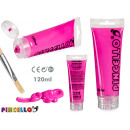 120ml acrylic paint tube magenta