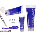 purple acrylic paint 120ml tube