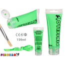 neon 120ml acrylic paint tube green
