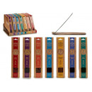 wholesale Drugstore & Beauty: 40 incense sticks and stand assorted 7
