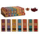 wholesale Room Sprays & Scented Oils: 40 incense cones and 7surt ceramic soprte