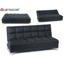 wholesale furniture: bosco folding sofa dark gray