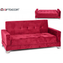 folding coral giner sofa with armrest