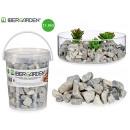 Pot de 1,5kg petite pierre gris clair
