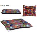 wholesale Garden & DIY store: 55x67cm pet bed colorful footprints assorted