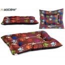 mayorista Jardin y Bricolage: cama mascotas 67x85cm huellas colores surtido
