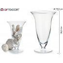 glass cup shape with wide mouth
