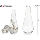 wholesale Flowerpots & Vases: jarron wide glass shape bottle
